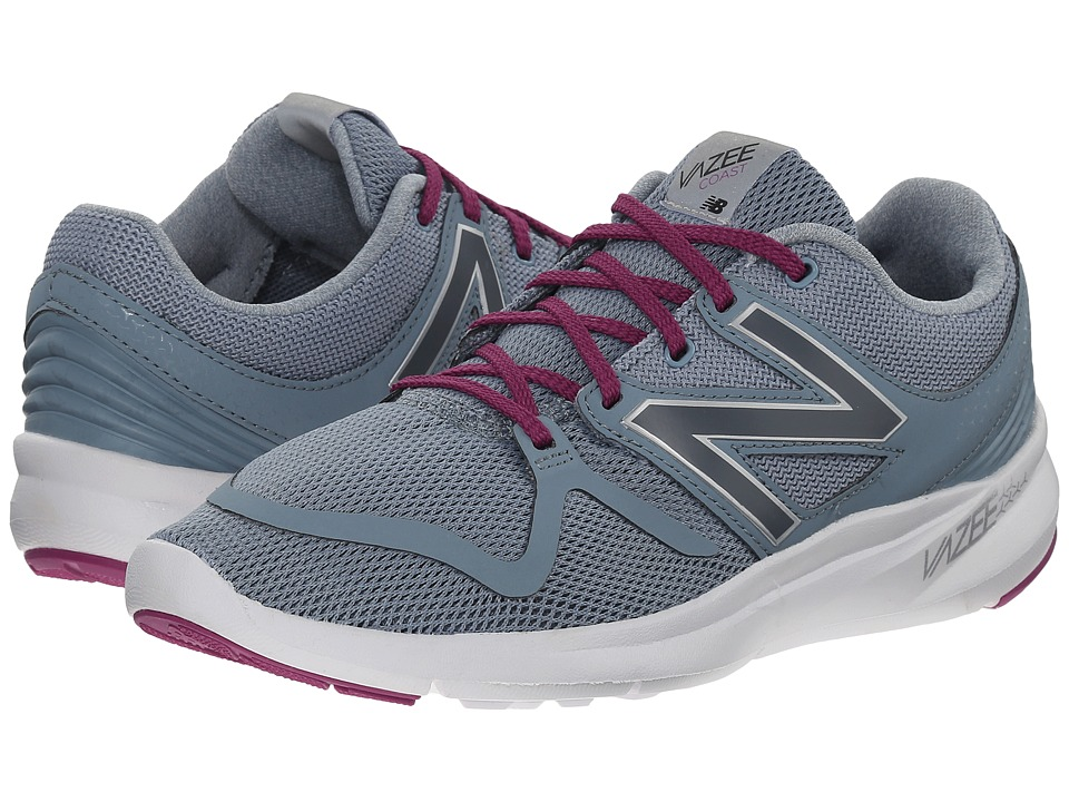 New Balance - Vazee Coast (Grey/Purple) Women's Running Shoes
