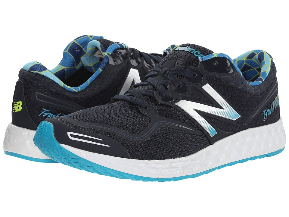 New Balance - Fresh Foam Zante (Silver/Navy) Women's Running Shoes