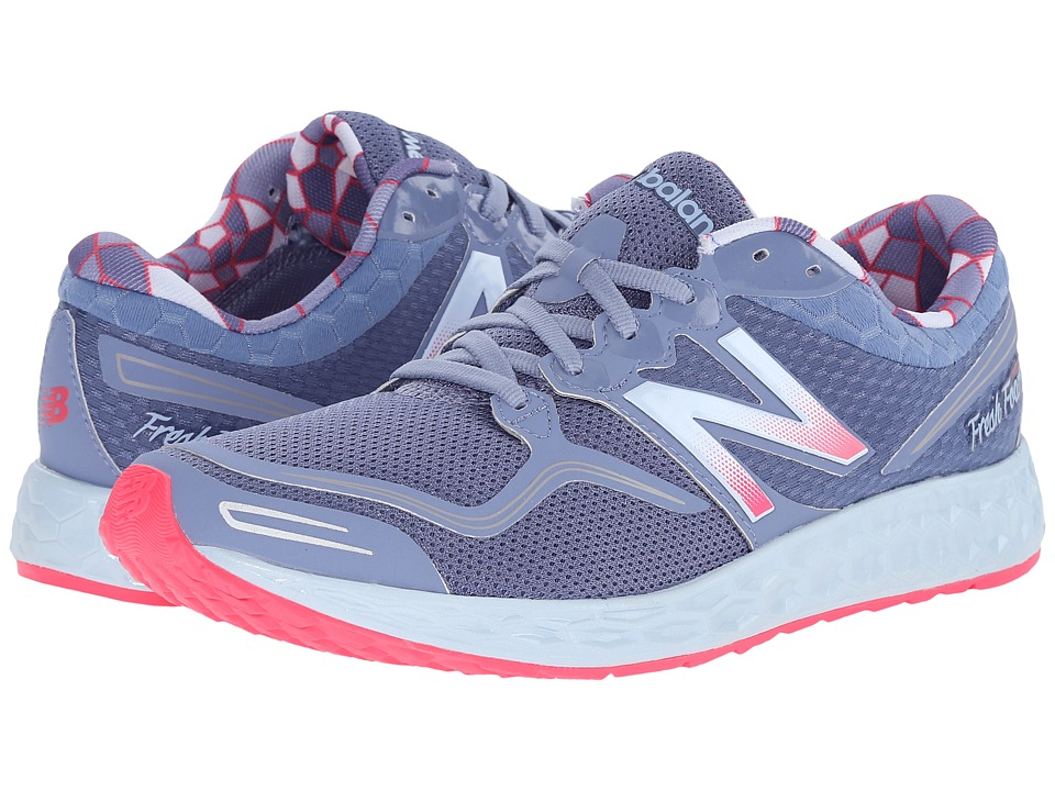 New Balance - Fresh Foam Zante (Blue/Pink) Women's Running Shoes