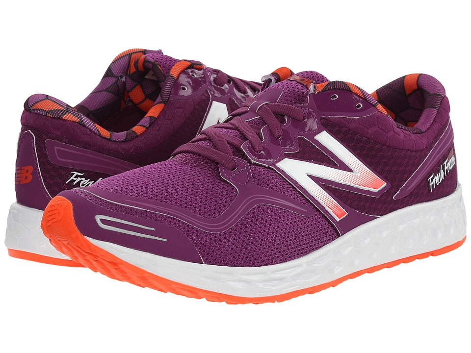 New Balance - Fresh Foam Zante (Purple/Pink) Women's Running Shoes