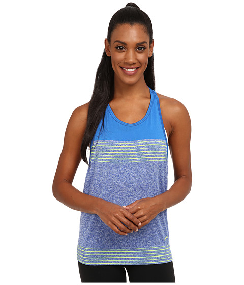 Nike - Dri-FIT Knit Loose Tank Top (Game Royal/Soar/Volt/Volt) Women's Sleeveless