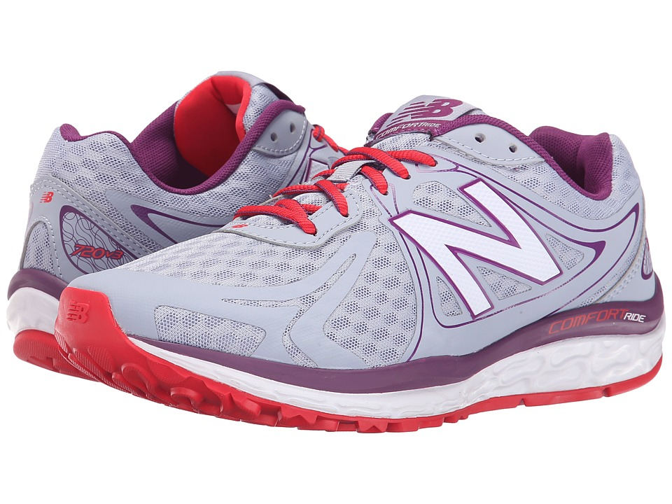 New Balance - W720v3 (Day Break/Imperial Red) Women's Running Shoes