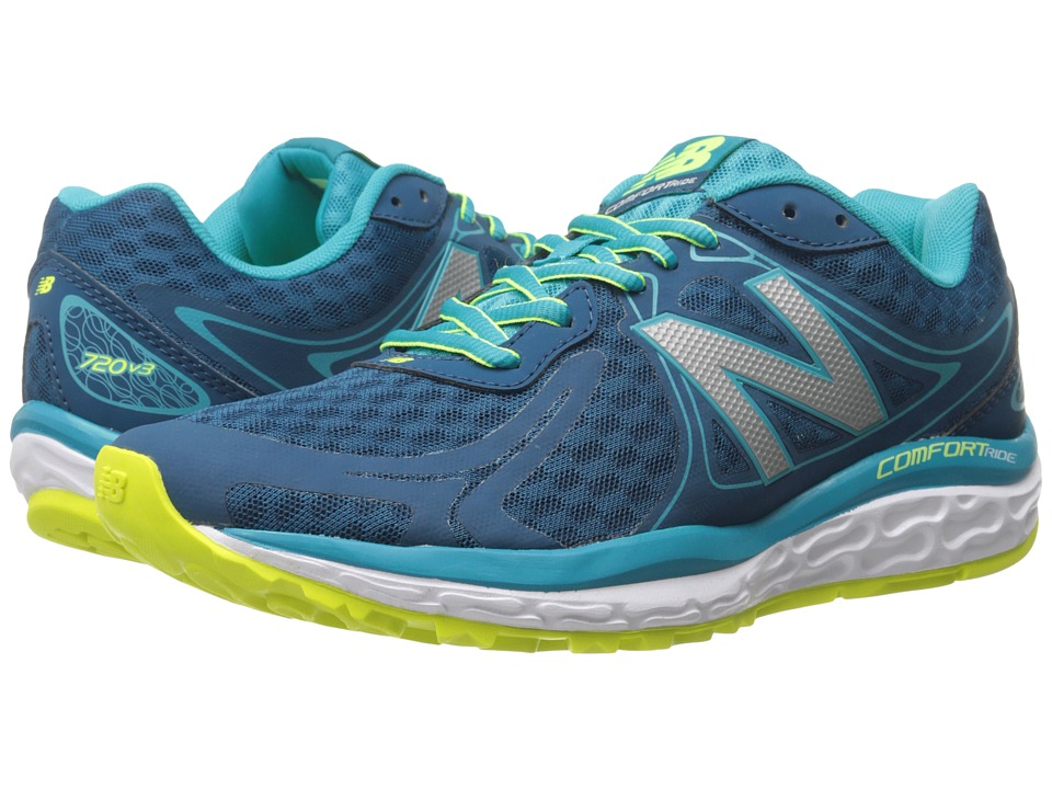 New Balance - W720v3 (Sea Glass/Hi-Lite) Women's Running Shoes