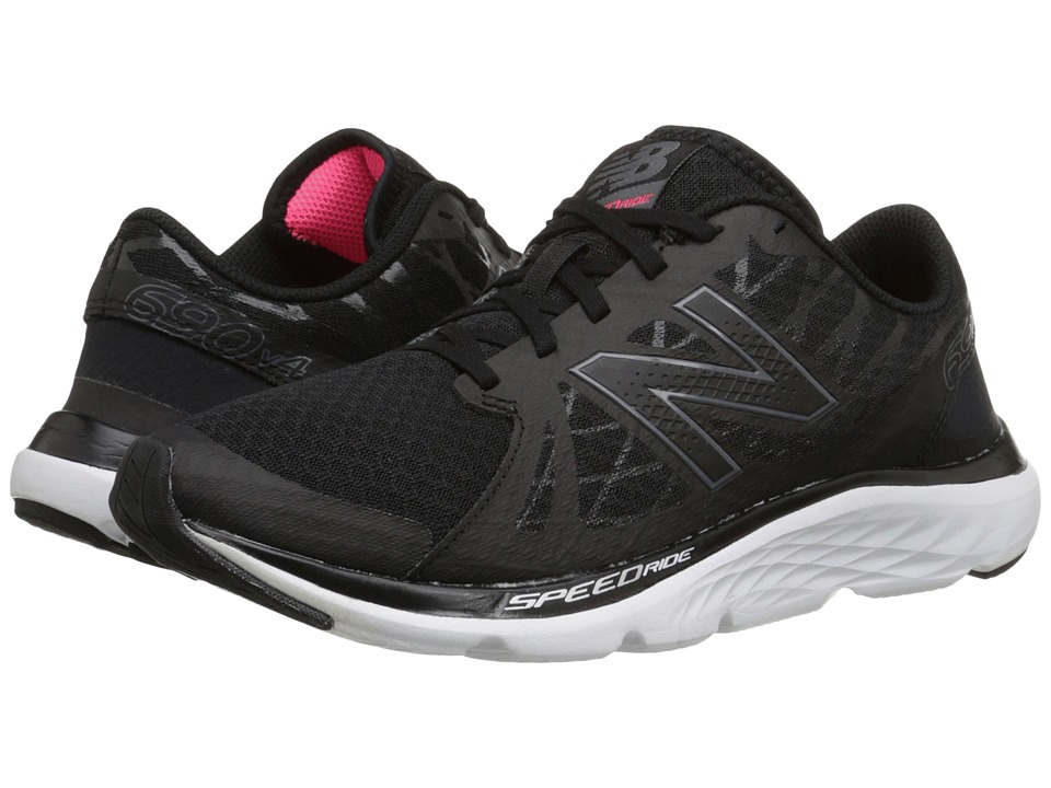 New Balance - W690v4 (Lead/Black) Women's Running Shoes