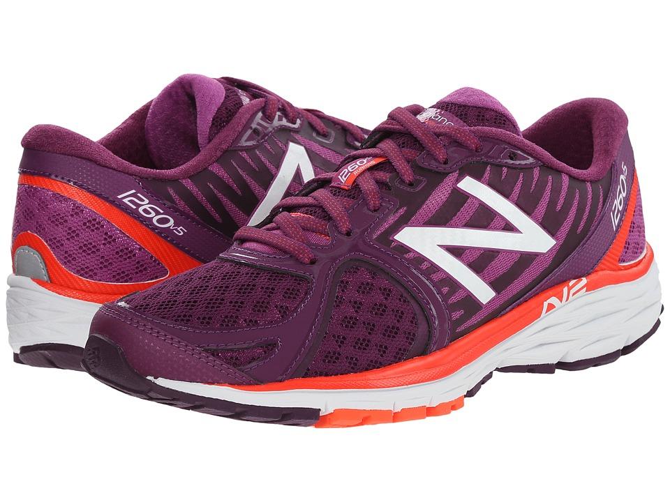 New Balance - W1260v5 (Purple/Orange) Women