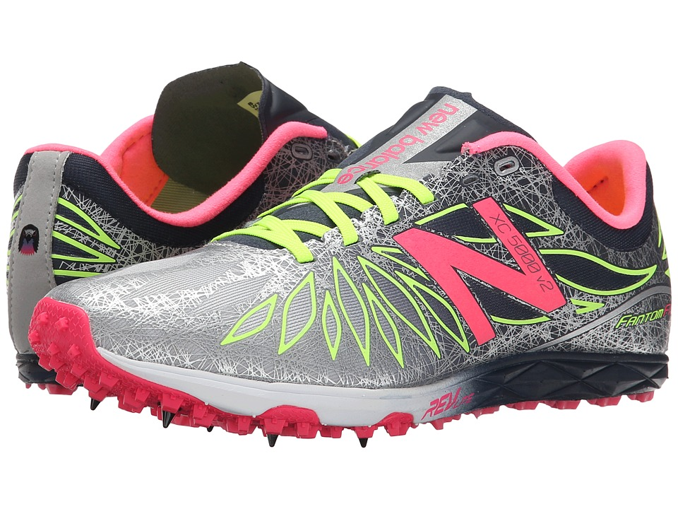 New Balance - WXC5000v2 (Black/Pink Zing) Women's Running Shoes