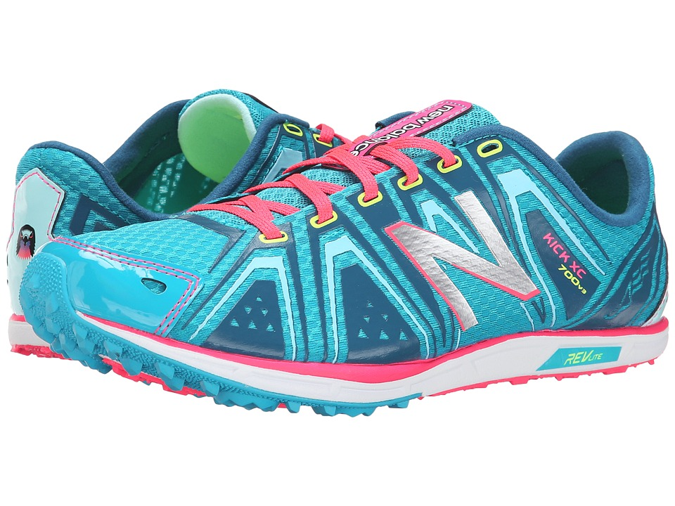 New Balance - WXC700v3 (Blue/Pink) Women's Shoes