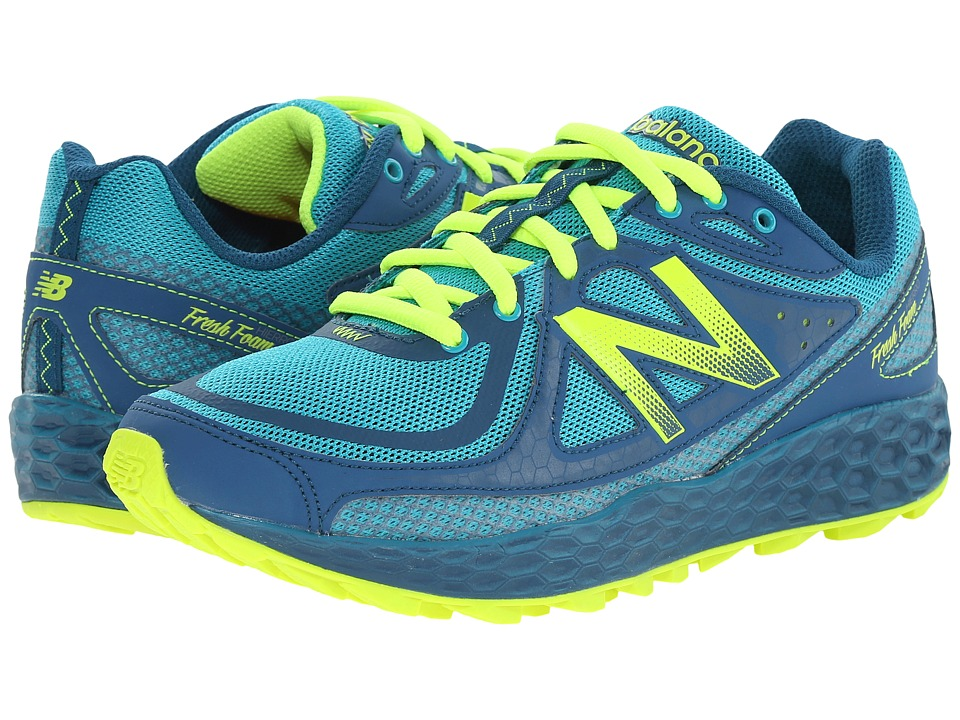 New Balance - Fresh Foam Hierro (Teal/Green) Women's Running Shoes