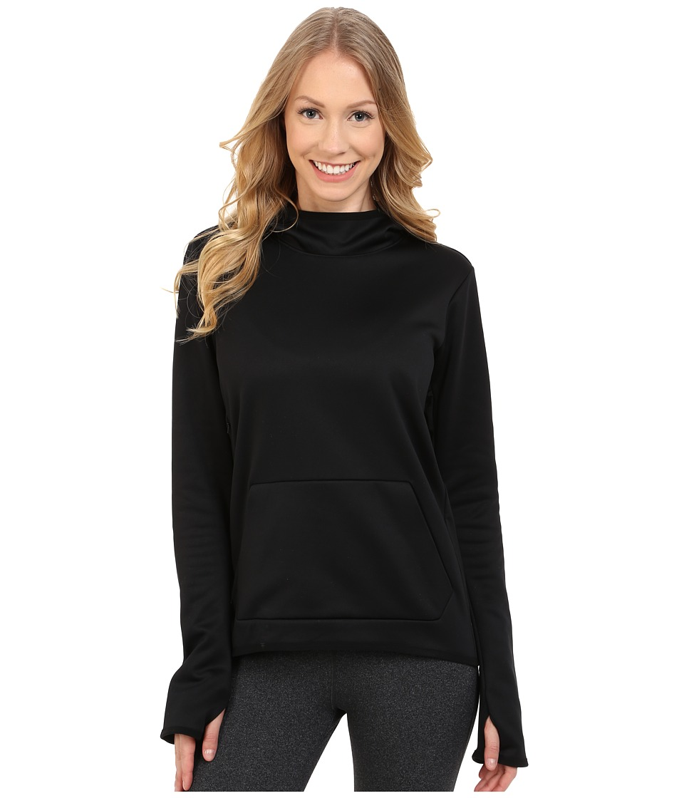 Nike - All Time Tech Pullover Hoodie (Black/Black/Black) Women's Sweatshirt