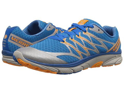 Merrell - Bare Access Ultra (Racer Blue/Marigold) Men's Running Shoes