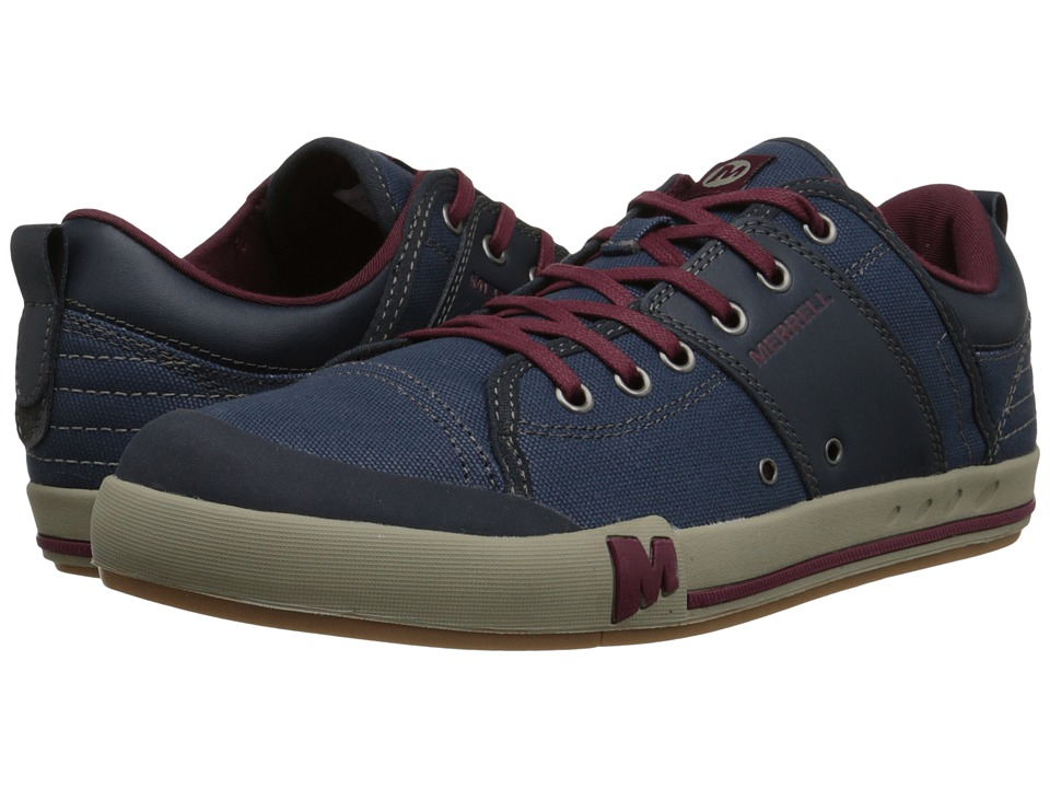 Merrell - Rant (Navy) Men's Lace up casual Shoes