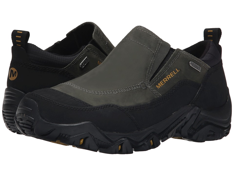 Merrell - Polarand Rove Moc Waterproof (Castle Rock) Men's Slip on Shoes