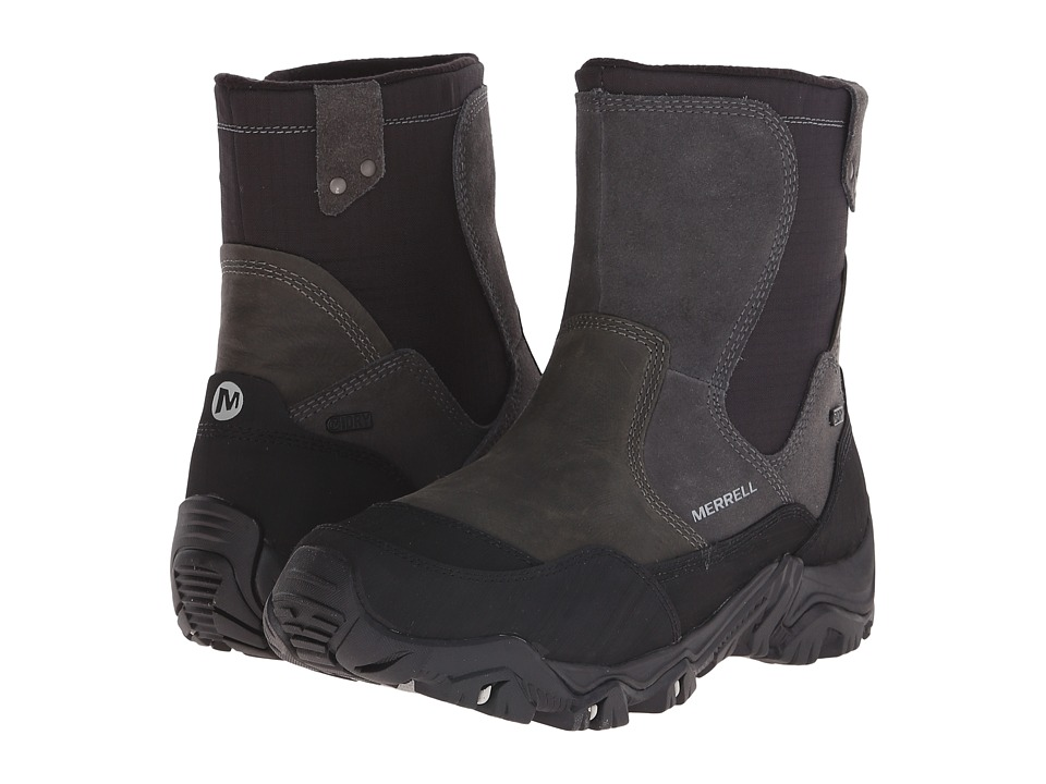Merrell - Polarand Rove Zip Waterproof (Castle Rock) Men's Lace-up Boots