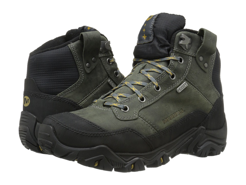 Merrell - Polarand Rove Waterproof (Castle Rock) Men's Hiking Boots