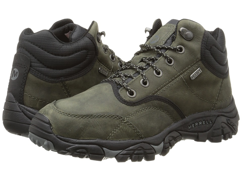 Merrell - Moab Rover Mid Waterproof (Castle Rock) Men's Waterproof Boots