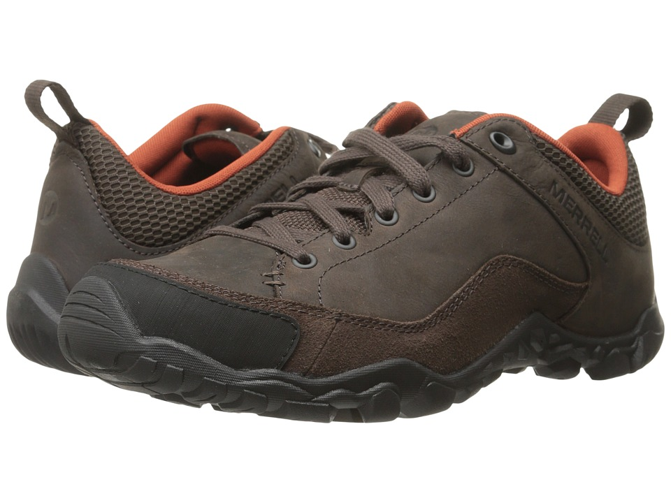 Merrell - Telluride Lace (Espresso) Men's Lace up casual Shoes
