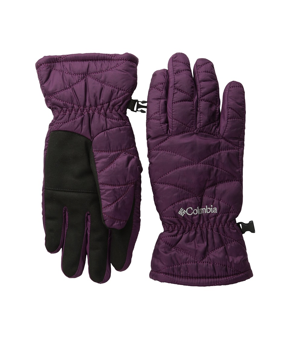 Columbia - Mighty Lite Glove (Purple Dahlia) Extreme Cold Weather Gloves