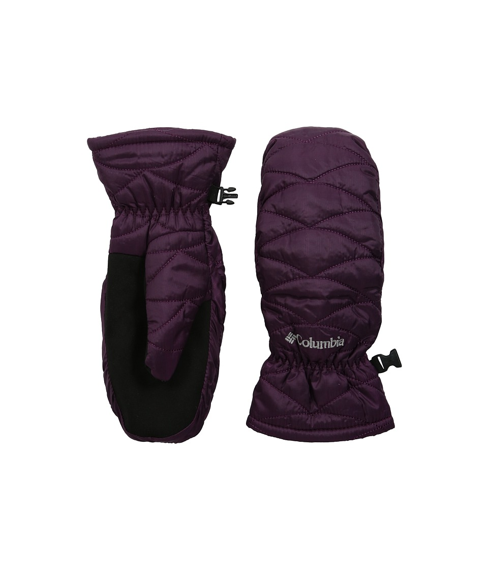 Columbia Mighty Lite Mitten (Purple Dahlia) Extreme Cold Weather Gloves
