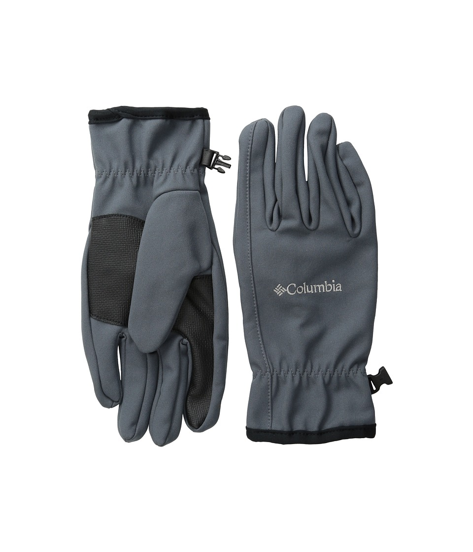 Columbia - Ascender Softshell Glove (Graphite) Ski Gloves