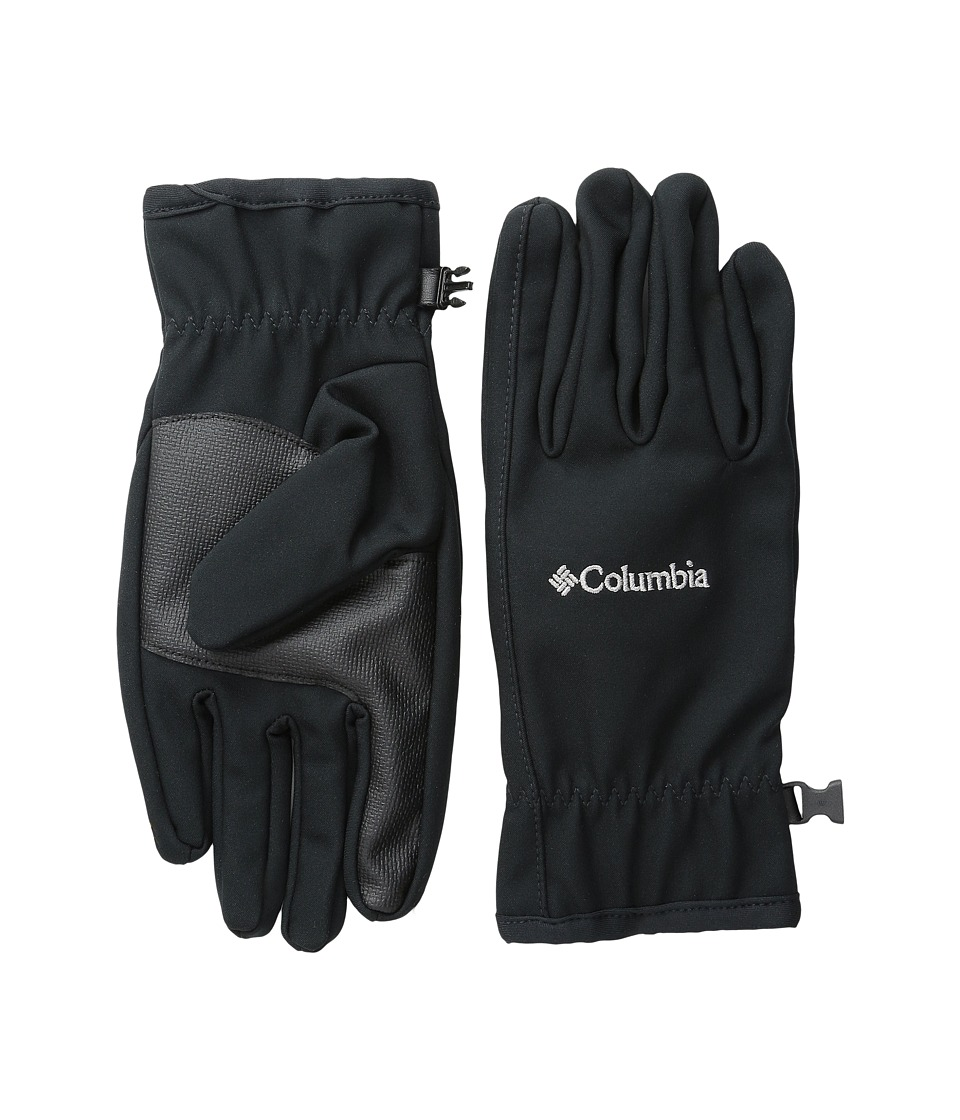 Columbia - Ascender Softshell Glove (Black 2) Ski Gloves
