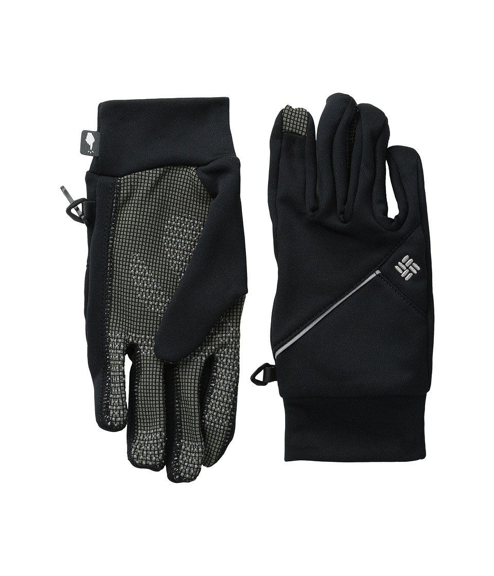 Columbia - Trail Summit Running Glove (Black) Extreme Cold Weather Gloves