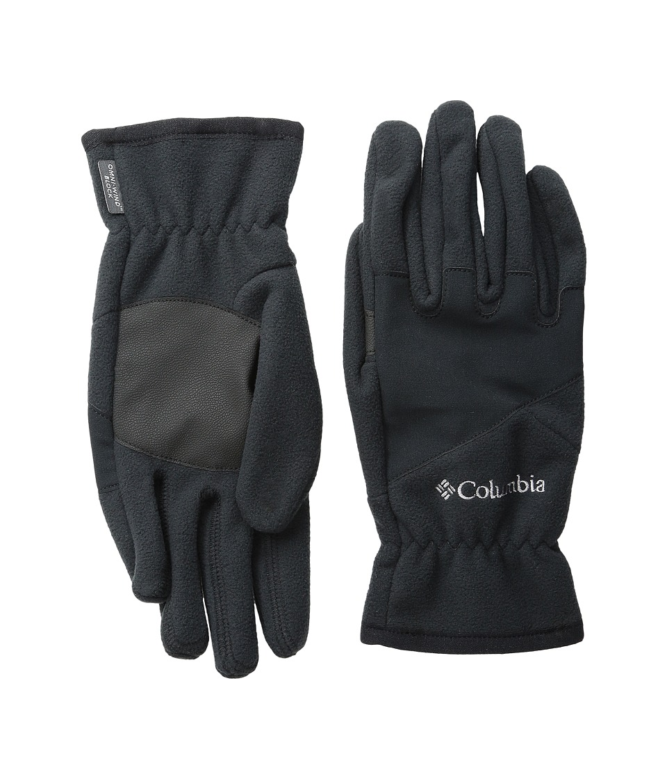 Columbia - Wind Bloc Glove (Black/Black) Extreme Cold Weather Gloves