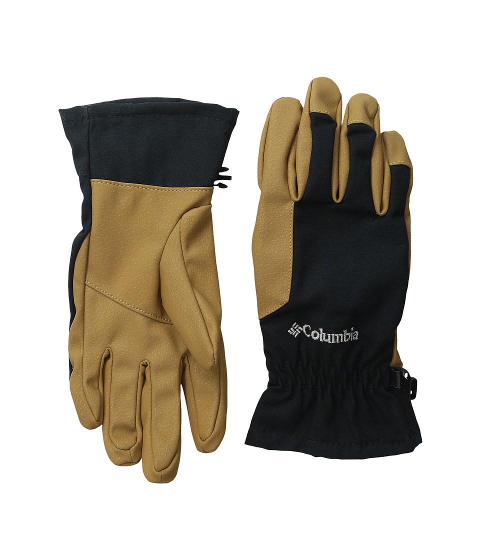 Columbia - Loma Vista Glove (Black/Maple) Extreme Cold Weather Gloves