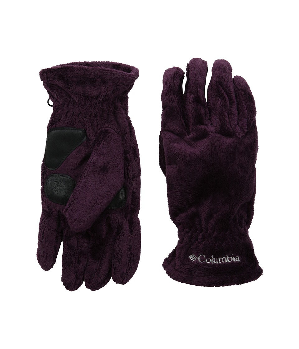 Columbia - Pearl Plush Glove (Purple Dahlia) Extreme Cold Weather Gloves