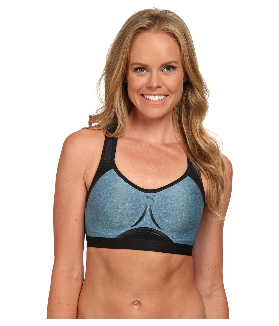 PUMA - WT Powershape Bra (Blue Coral) Women's Bra