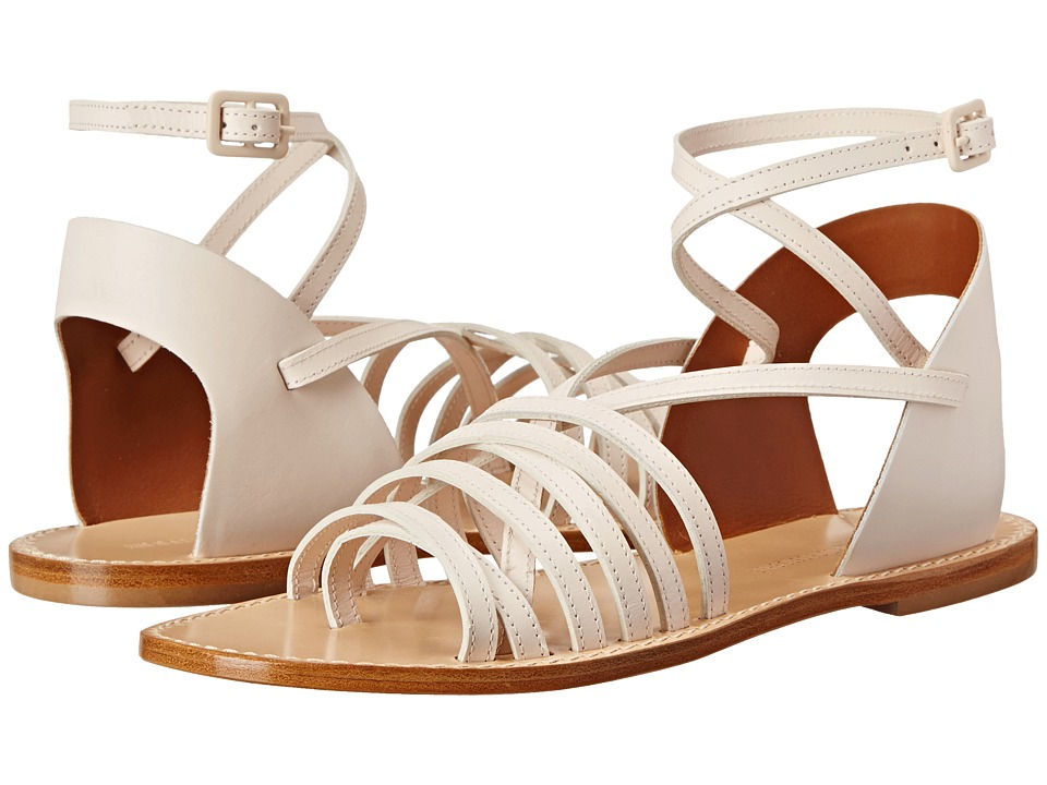 Band of Outsiders Low Strappy Sandal Nude Womens Sandals