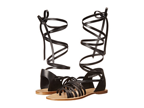 Band of Outsiders - Tall Strappy Sandal (Black) Women's Sandals