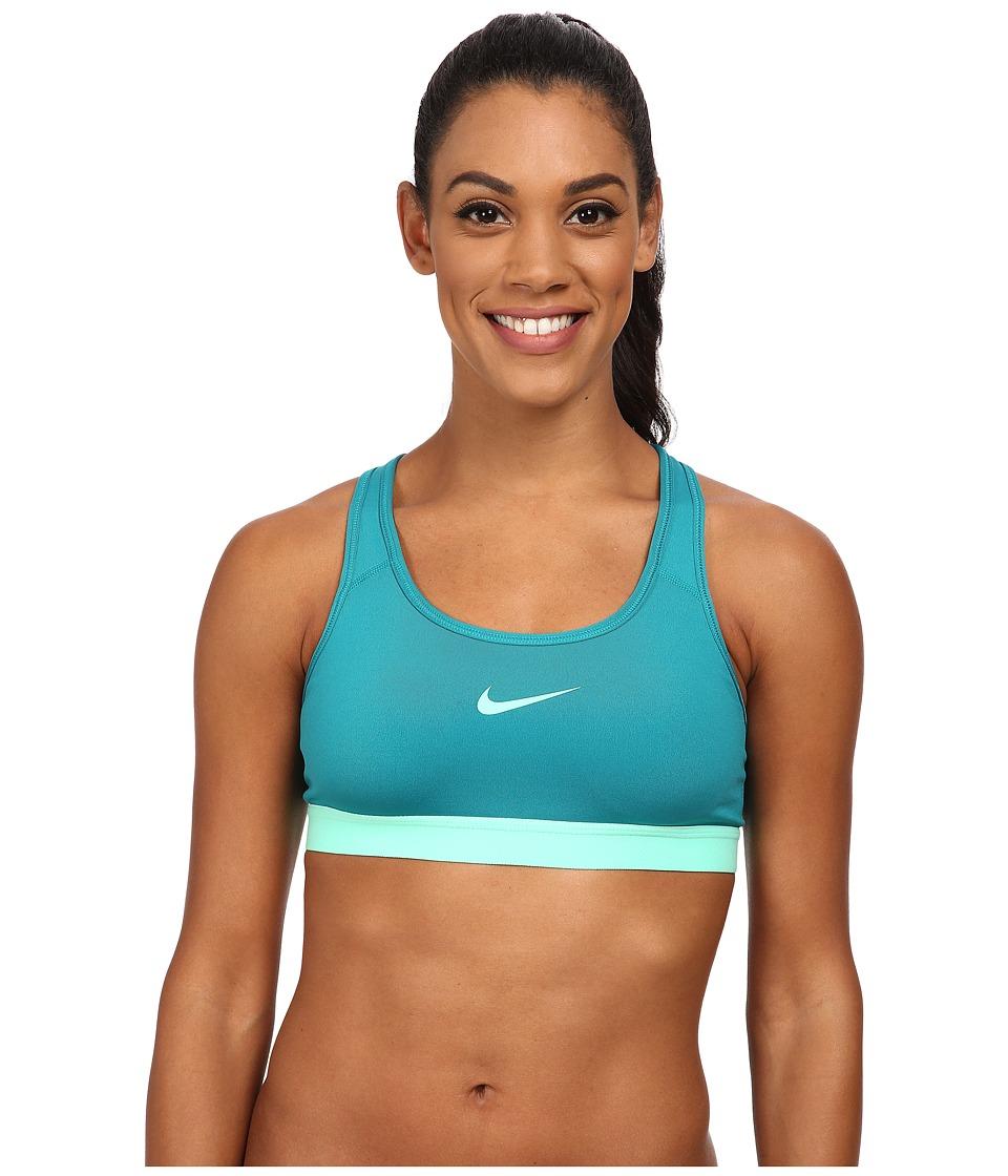 Nike - Pro Bra (Radiant Emerald/Green Glow/Green Glow) Women