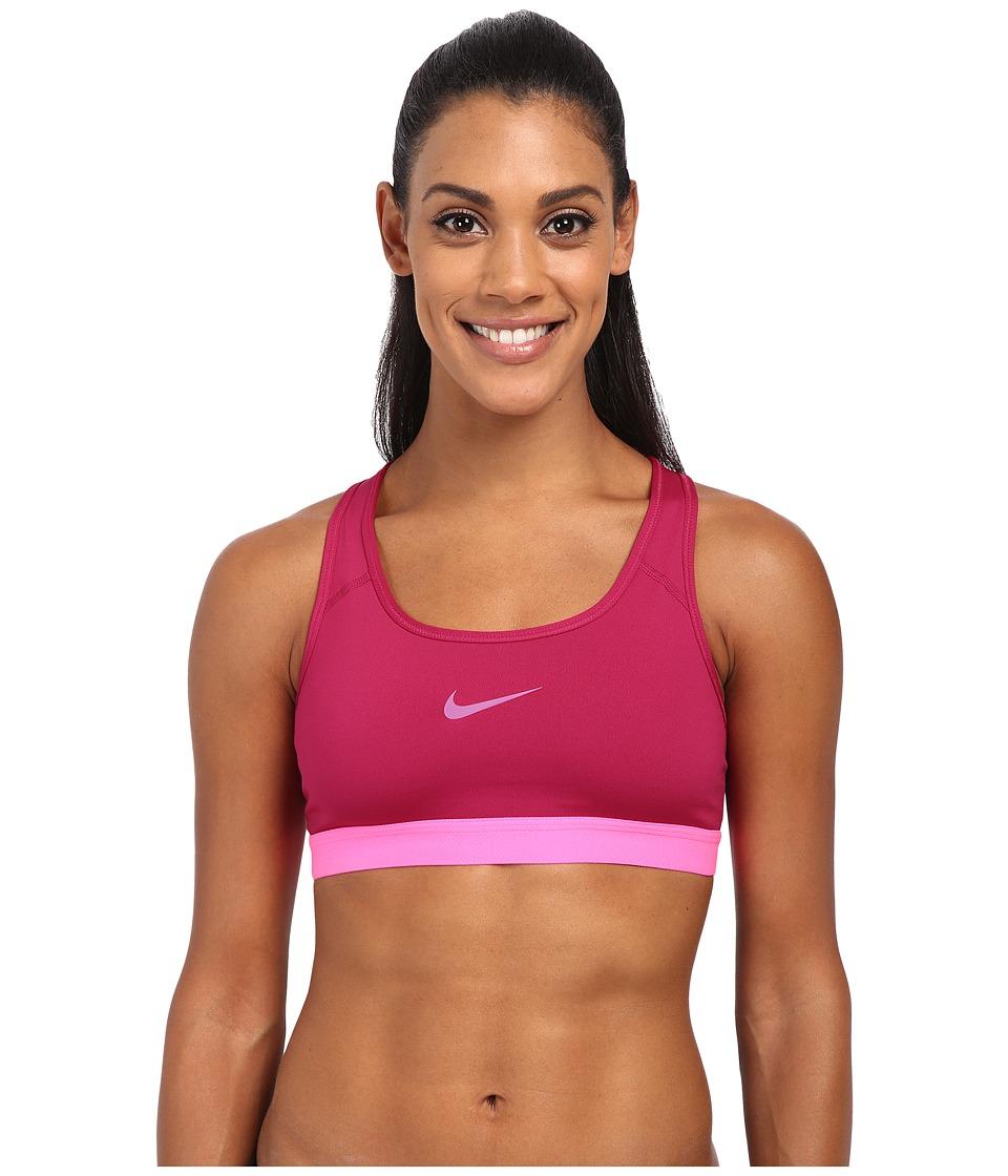 Nike - Pro Bra (Sport Fuchsia/Pink Pow/Pink Pow) Women's Bra