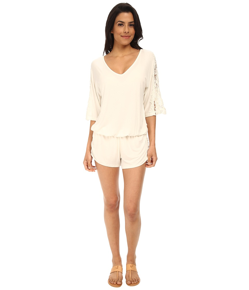L*Space - Mali Romper (Ivory) Women's Swimwear