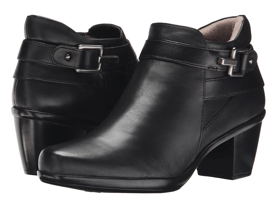 Naturalizer - Elenor (Black Leather) Women's Boots