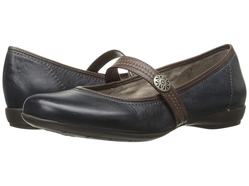 Naturalizer Garrison (Classic Navy/Bridal Brown Leather) Women