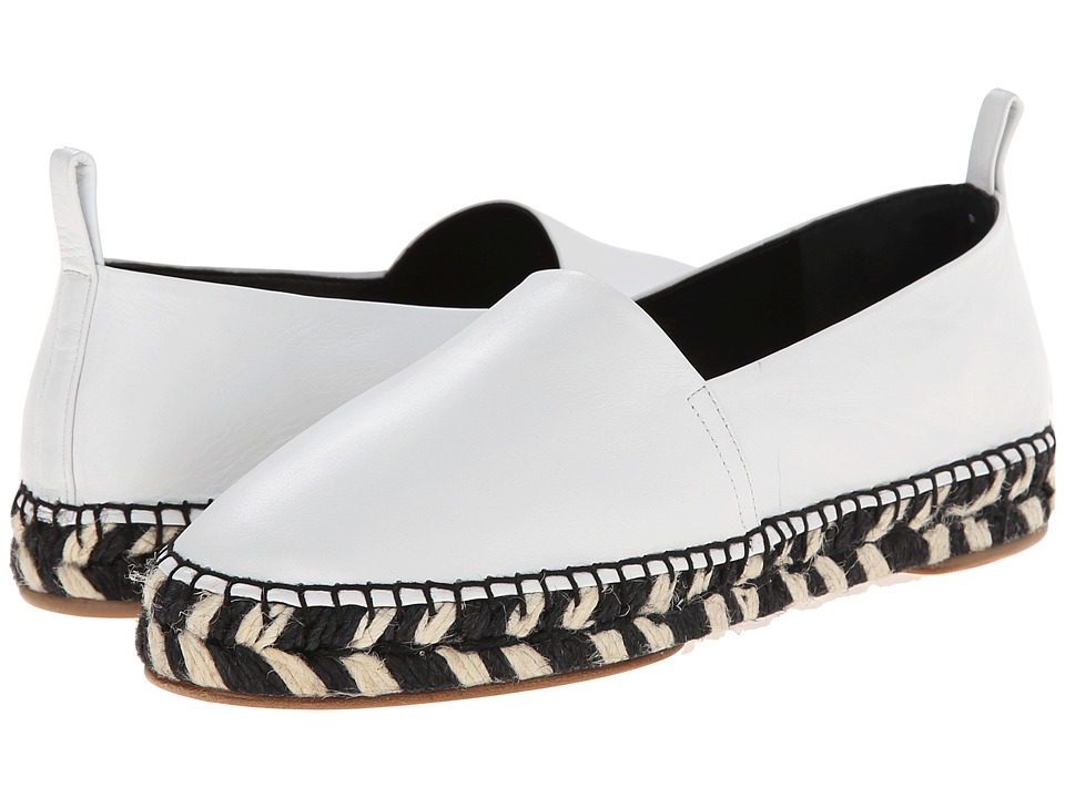 Proenza Schouler - Graphic Print Sole Espadrille (White) Women