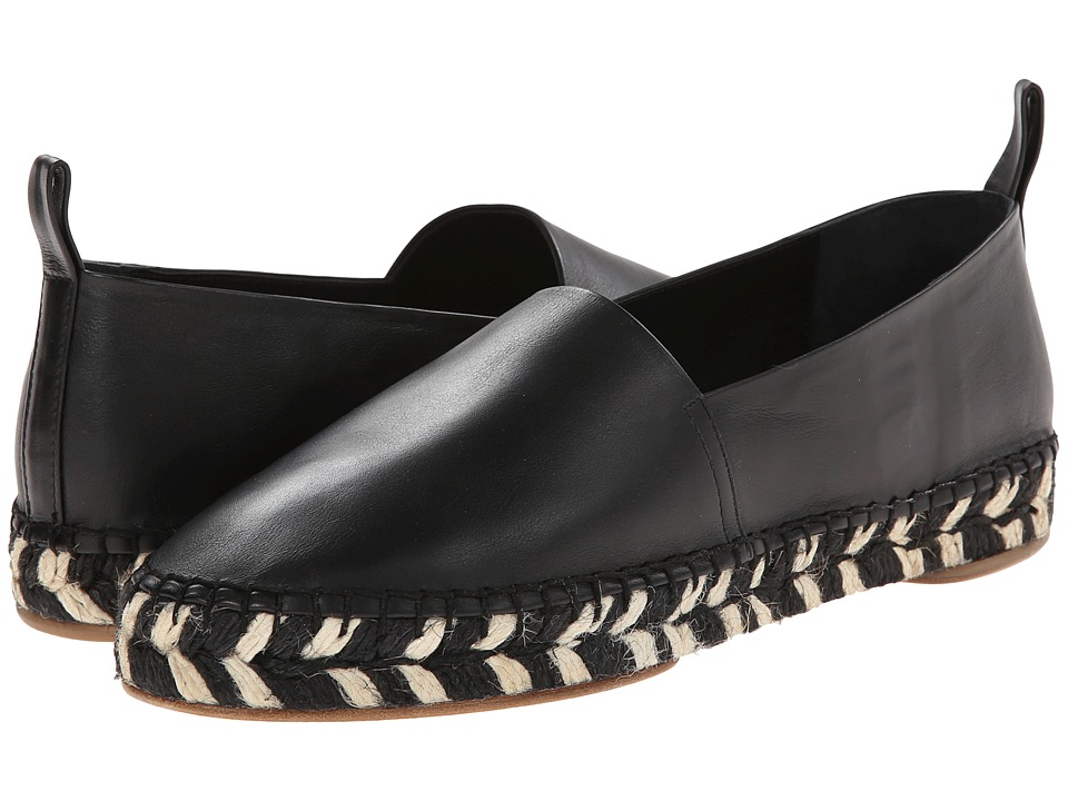 Proenza Schouler - Graphic Print Sole Espadrille (Black) Women