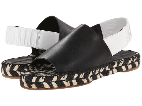Proenza Schouler - Flat Slingback Sandal (Black Multi) Women