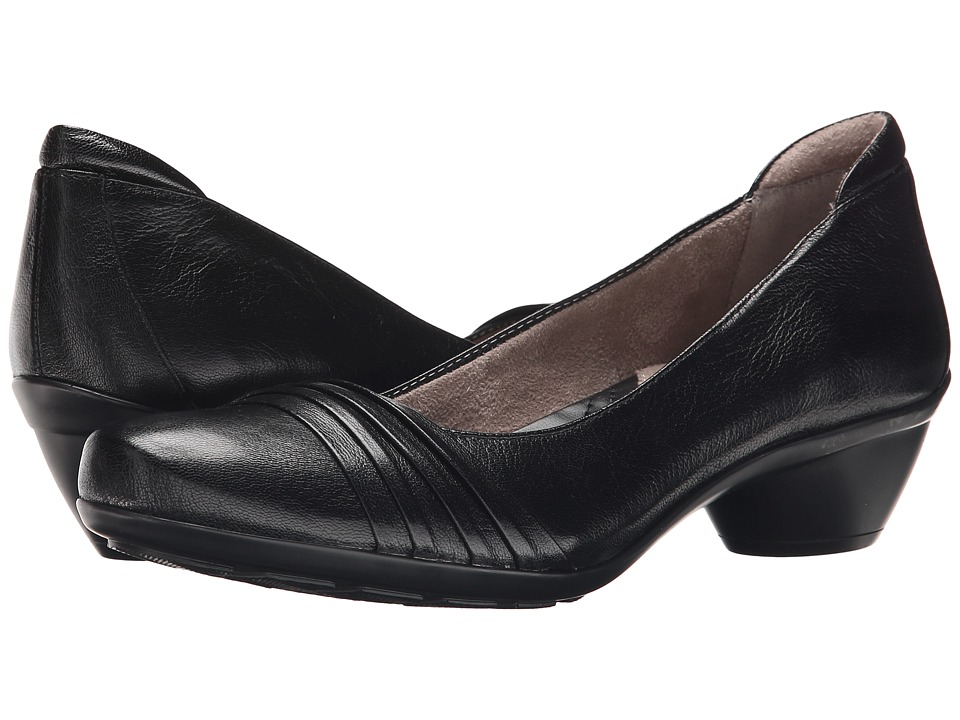 Naturalizer Halona (Black Leather) Women