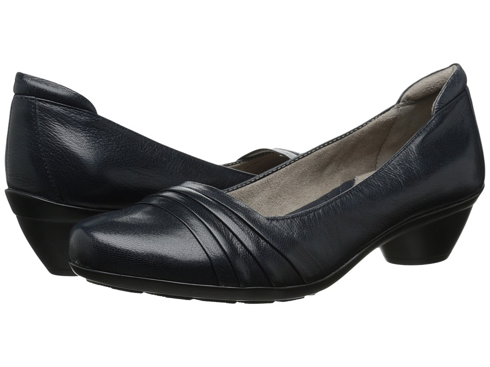 Naturalizer - Halona (Classic Navy Leather) Women