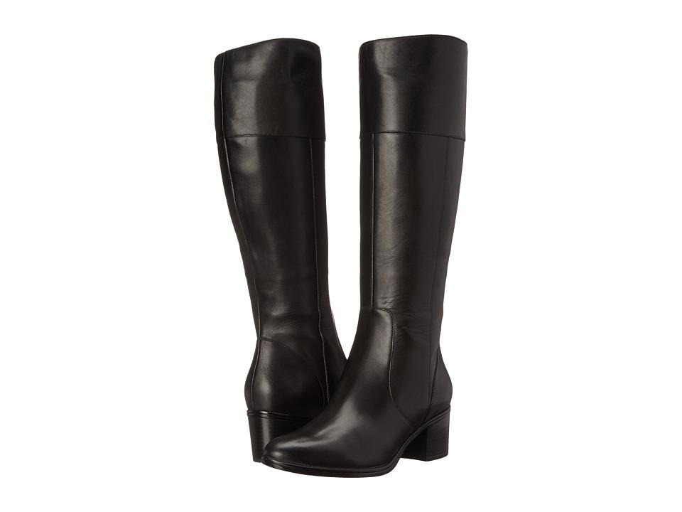 Naturalizer - Harbor (Black Leather) Women's Boots