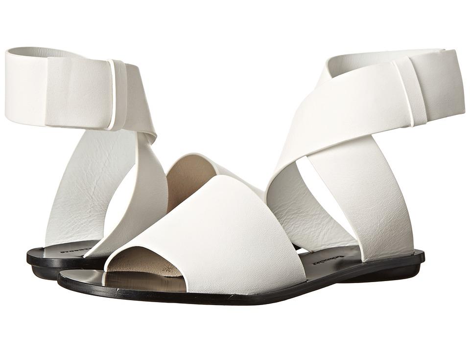 Proenza Schouler - Ankle Wrap Flat Sandal (White) Women's Sandals