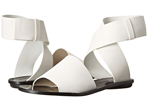 Proenza Schouler - Ankle Wrap Flat Sandal (White) Women