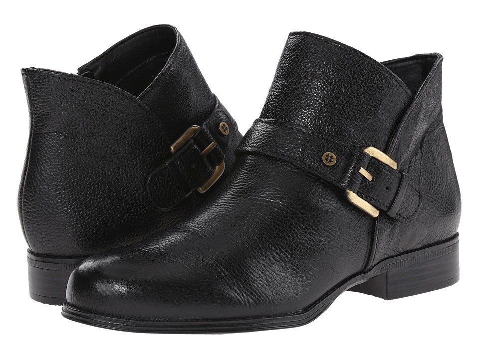 Naturalizer - Jarrett (Black Leather) Women's Boots