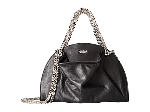 Jean Paul Gaultier - Bowling PM (Black) Handbags