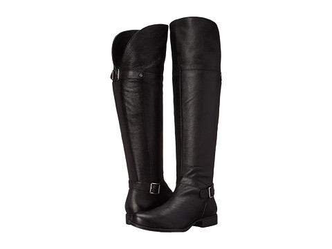 Naturalizer - July (Black Leather) Women's Boots