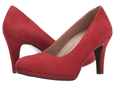 Naturalizer - Michelle (Red Glory Suede) High Heels