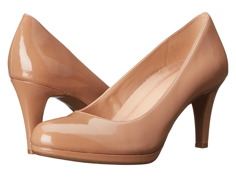 Naturalizer - Michelle (Nude Shiny) High Heels