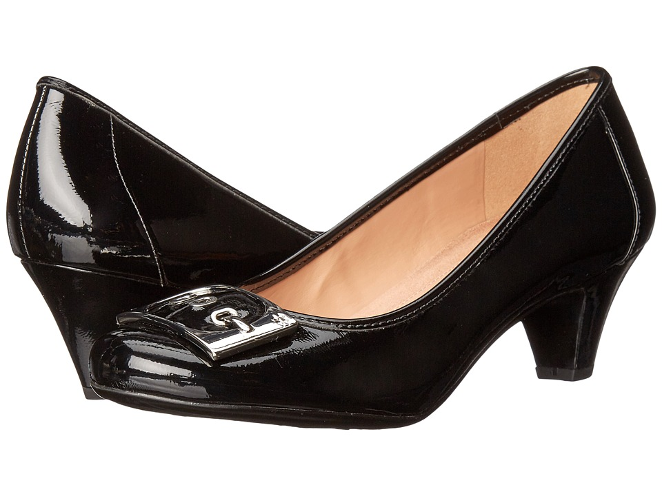 Naturalizer - Sharon (Black Shiny) High Heels